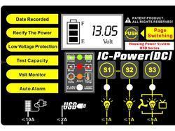 Trakční (gelová) baterie Goowei OTD100-12, 100Ah, 12V ( VRLA ) - 4
