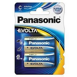 Baterie Panasonic Evolta Alkaline, LR14, C, (Blistr 2ks) - 5
