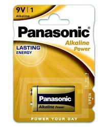 Baterie Panasonic Alkaline Power, 6LR61, 9V, (Blistr 1ks) - 5