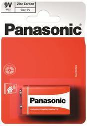 Baterie Panasonic zinco-carbon, 6F22RZ, 9V, (Blistr 1ks) - 5