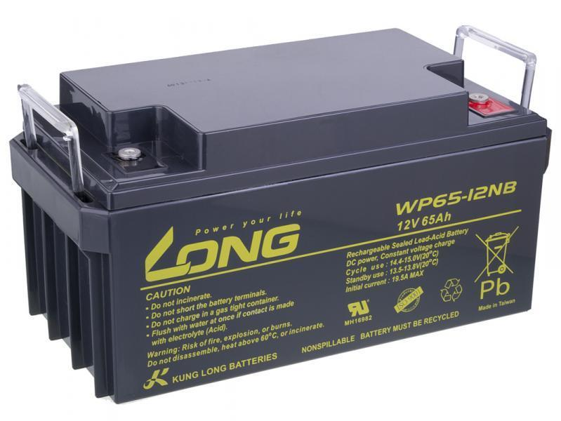 WP20-12IE, 12 V, 20 Ah LONG PBLO-12V020-F3AD Bater/ía DeepCycle AGM F3